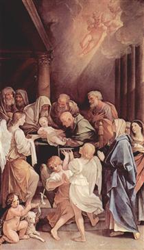 Thecircumcision of theChild Jesus - Guido Reni