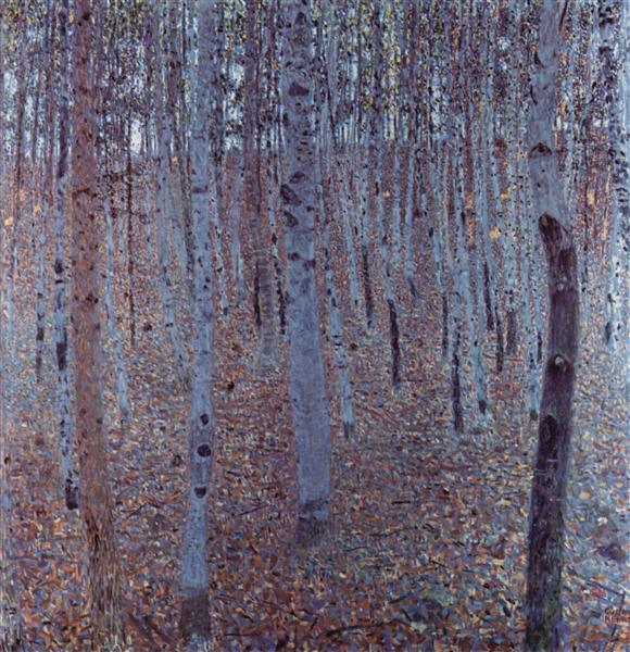 Buchenhain, 1902 - Gustav Klimt