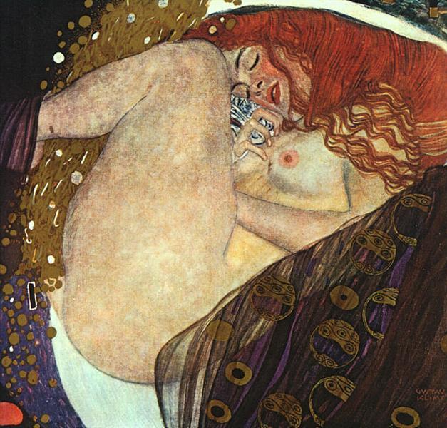 Danae - Klimt Gustav