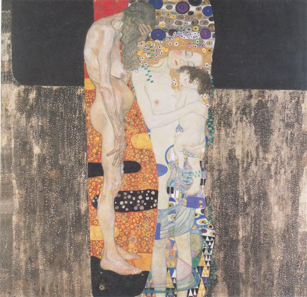The Three Ages of Woman, 1905 - Gustav Klimt