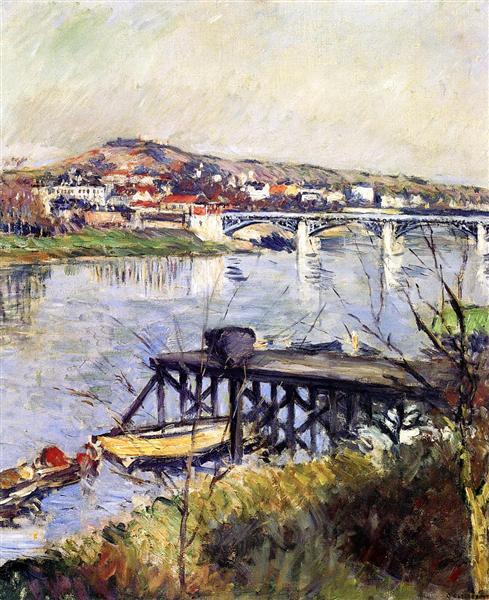 The Argenteuil Bridge, 1893 - Gustave Caillebotte