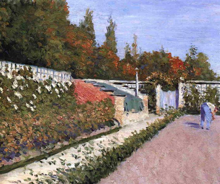 The Gardener, 1877 - 古斯塔夫·卡耶博特