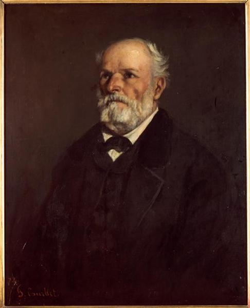 Portrait of Régis Courbet - Gustave Courbet