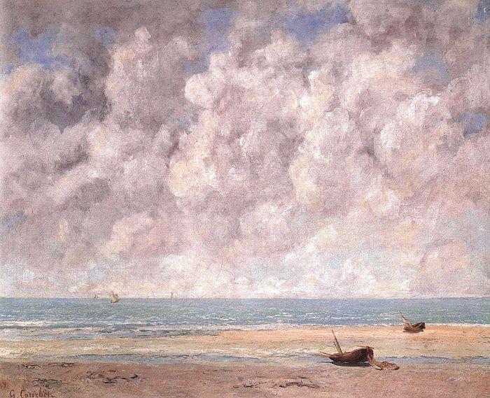 The Calm Sea, 1869 - Gustave Courbet