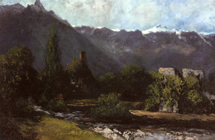 The Glacier, 1873 - Gustave Courbet