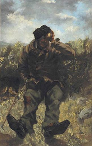 The Vagabond, 1845 - Gustave Courbet - WikiArt.org