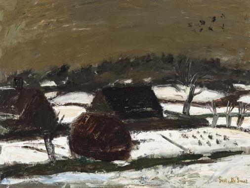 Dark snow, 1939 - Gustave de Smet