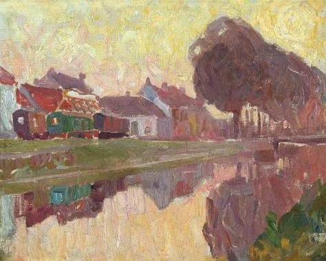 Ghent, a View of the Coupure, 1907 - Густав де Смет