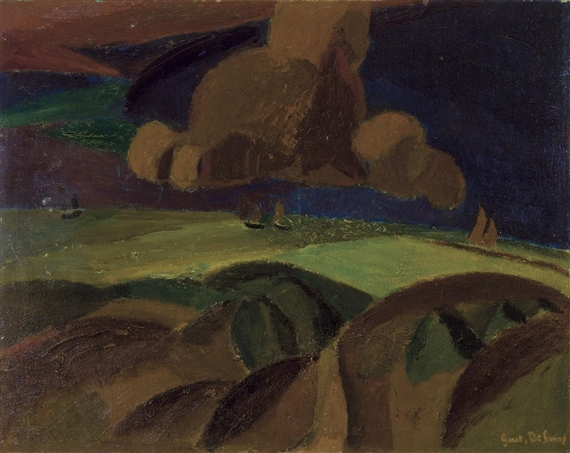 Landscape, 1917 - Густав де Смет