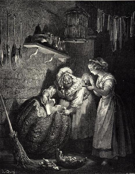 Cinderella - Dore Gustave