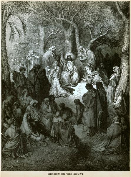 Sermon on the Mount - Gustave Dore