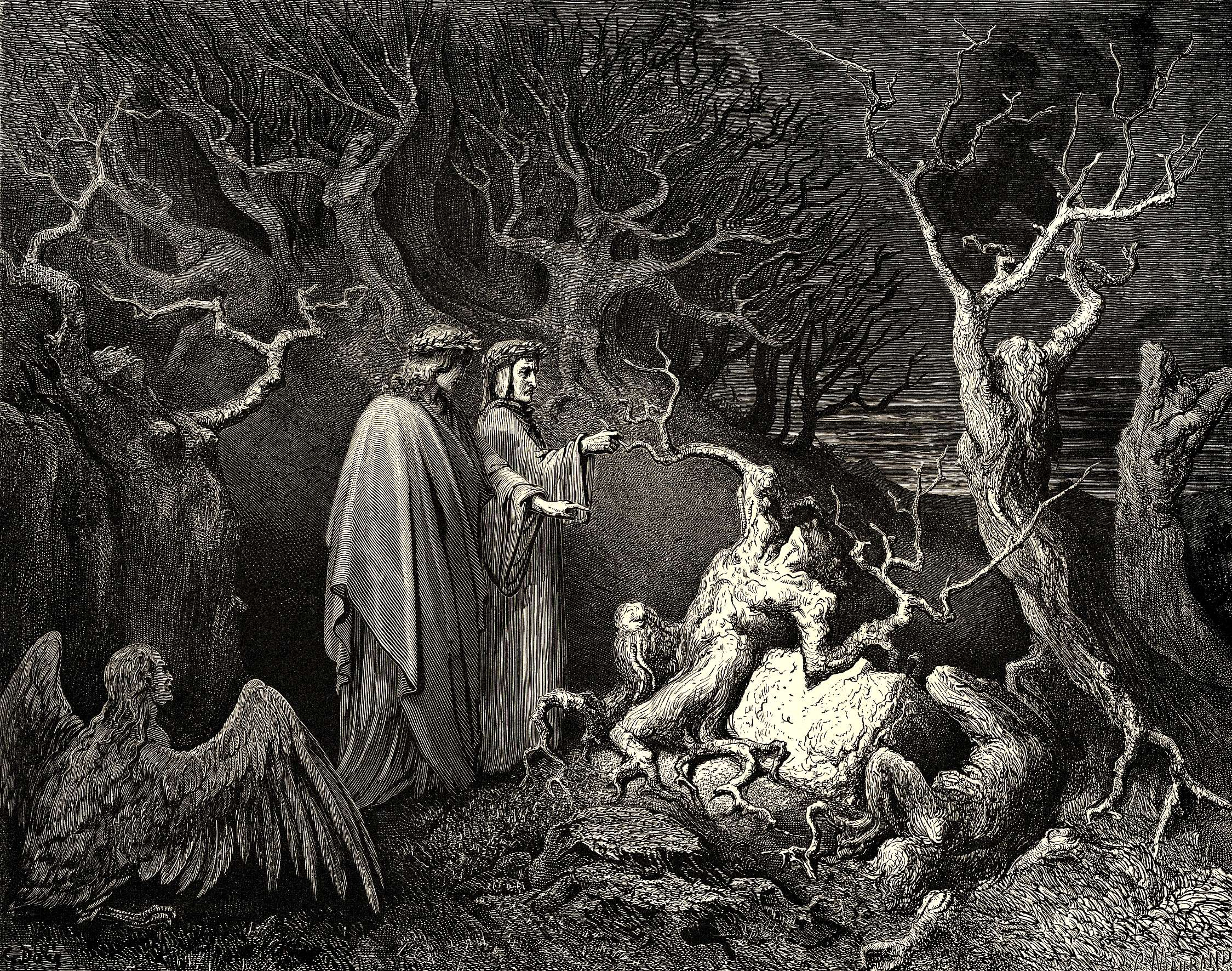 Gustave Dore Inferno Illustrations