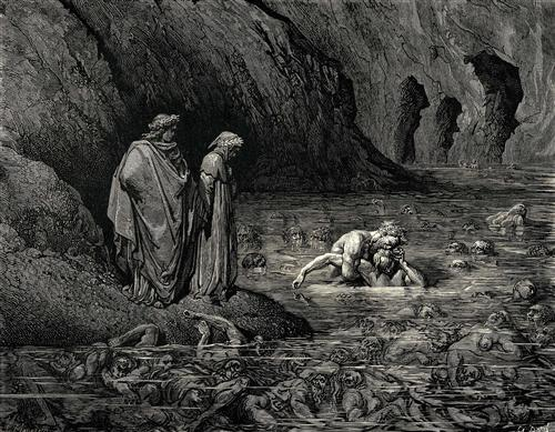 The Inferno, Canto 32 - Gustave Dore