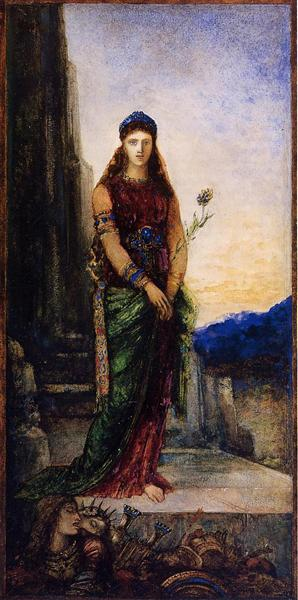 Helen on the Walls of Troy, c.1885 - Gustave Moreau