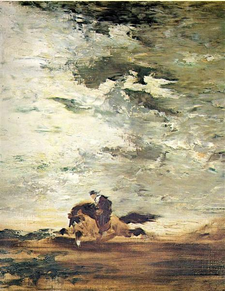 Horseman, c.1852 - c.1854 - Gustave Moreau