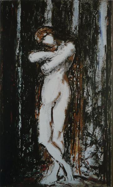 Nu. Draft, c.1890 - Gustave Moreau