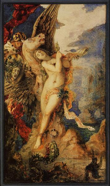Perseus and Andromeda, c.1867 - 1869 - Gustave Moreau