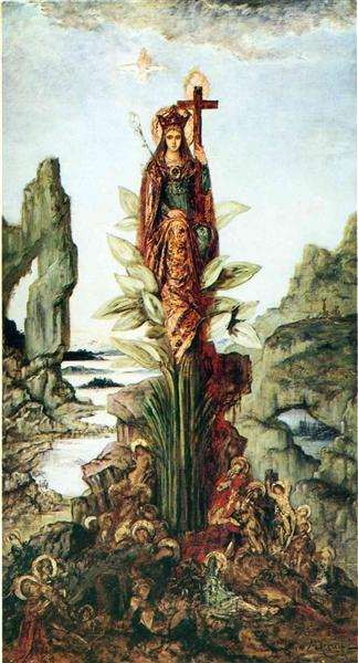 The Mystic Flower, 1890 - Gustave Moreau