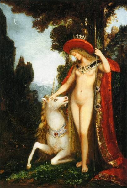 The Unicorne, 1884 - 1885 - Gustave Moreau