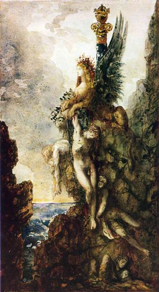 The Victorious Sphinx, 1886 - Gustave Moreau