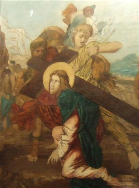 Third Station of the Cross - Gustave Moreau