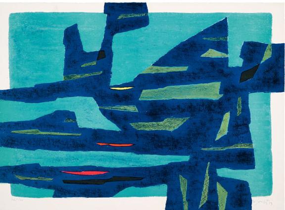 Mistral-nuit, 1954 - Gustave Singier
