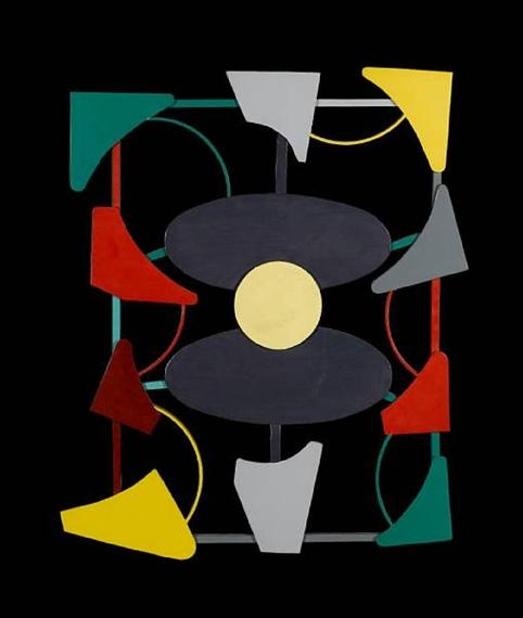 Planos y color liberados, 1947 - Gyula Kosice