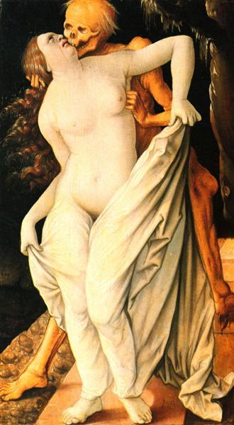 Death and wife, 1518 - 1520 - Hans Baldung