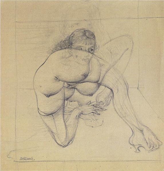Untitled (Cephalopod) - Hans Bellmer