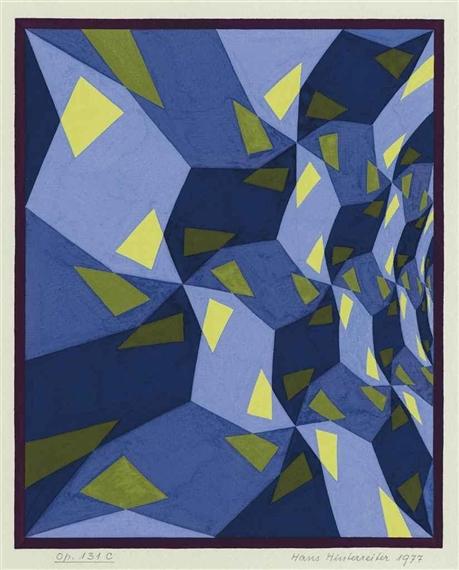 Opus 131 C, 1977 - Ганс Хинтеррайтер