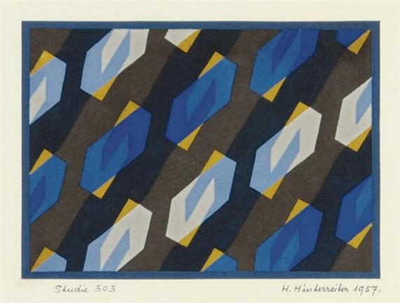Studie 303, 1957 - Hans Hinterreiter