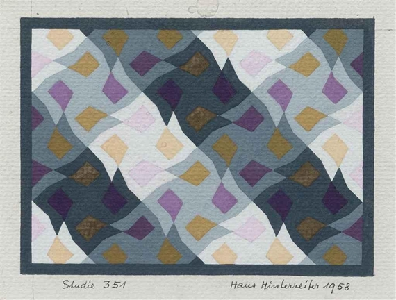 Studie 351, 1958 - Hans Hinterreiter