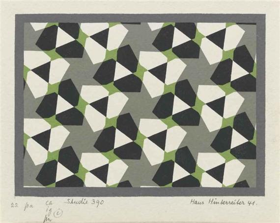 Studie 390, 1941 - Hans Hinterreiter