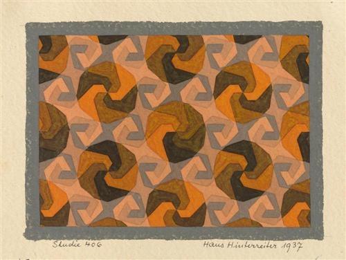 Studie 406, 1937 - Hans Hinterreiter