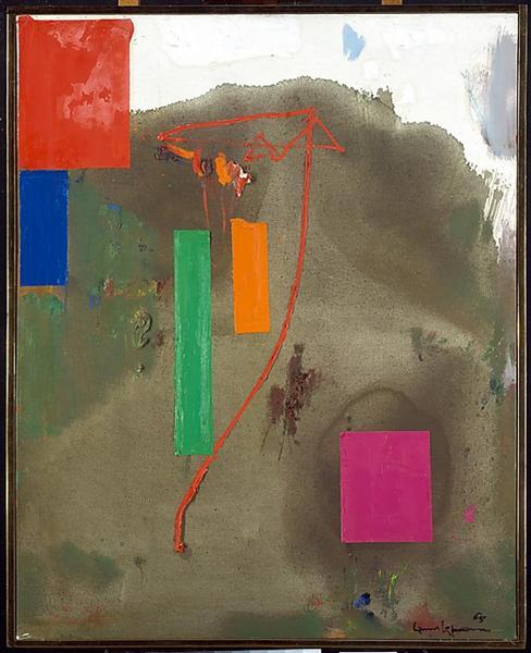 Lonely Journey, 1965 - Hans Hofmann