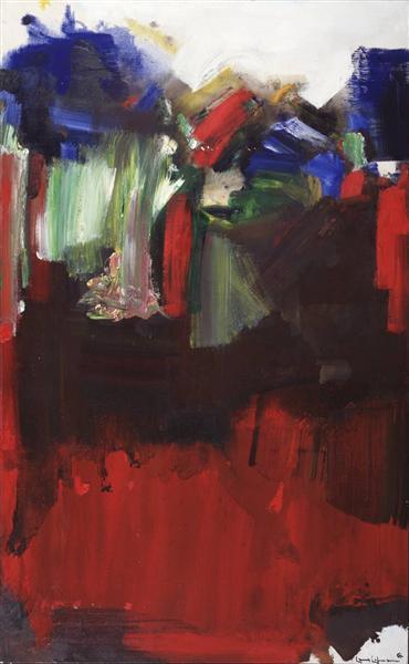 Nulli Secundus, 1964 - Hans Hofmann
