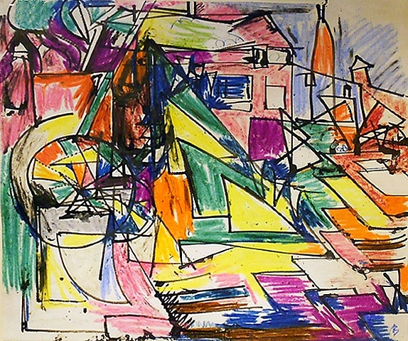Provincetown, 1942 - Hans Hofmann