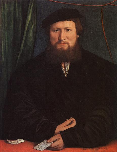 Derek Berck, 1536 - Hans Holbein, o Jovem