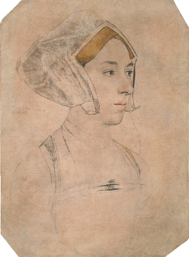 Portrait of a Lady, thought to be Anne Boleyn, c.1534 - Hans Holbein le Jeune
