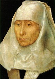 Portrait of an Old Woman - Hans Memling