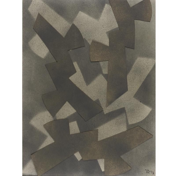 Abstract composition - Hans Richter