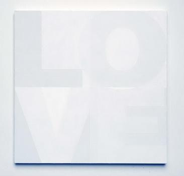 Untitled (Love), 2007 - Heimo Zobernig