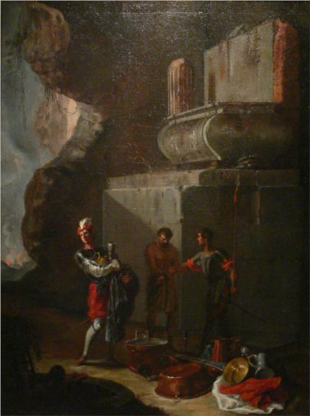 Die Plünderer, c.1635 - Heinrich Schonfeld