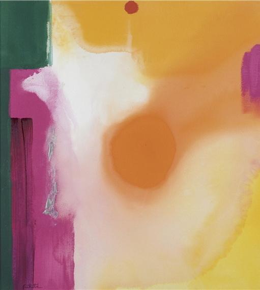 Bullseye, 1989 - Helen Frankenthaler