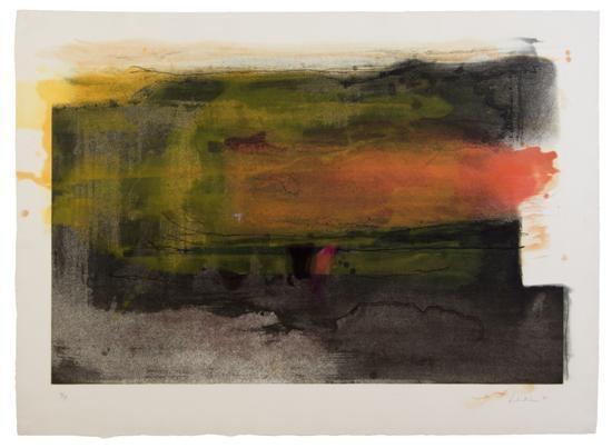 Deep Sun, 1983 - Helen Frankenthaler