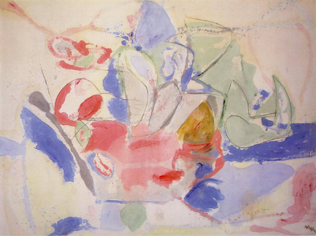 frankenthaler mountains and sea
