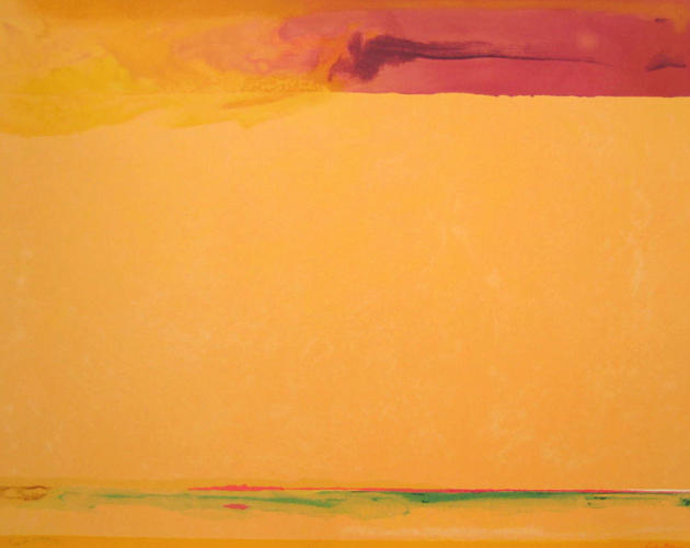 Southern Exposure - Helen Frankenthaler
