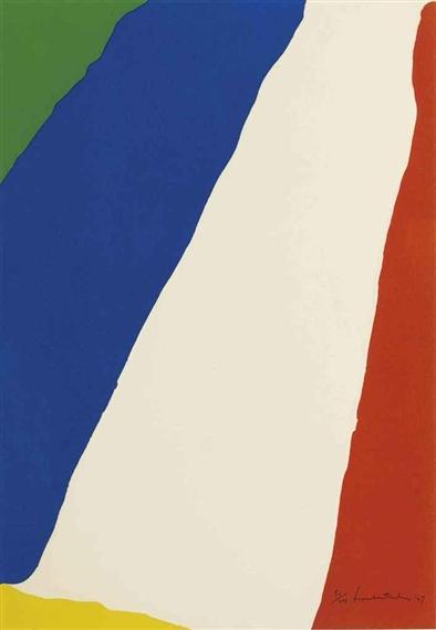 Untitled, 1967 - Helen Frankenthaler