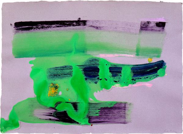 Untitled, 1980 - Helen Frankenthaler