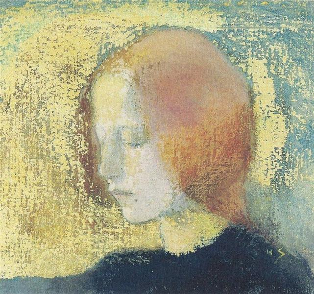 Katkelma, 1905 - Helene Schjerfbeck